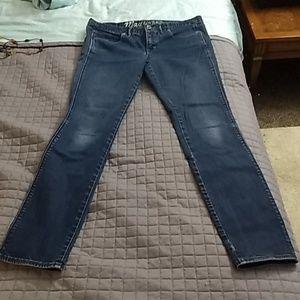 Madewell skinny low jeans 29x32
